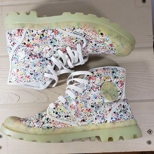Palladium Atmos Glow in Dark Men's Splatter Boots